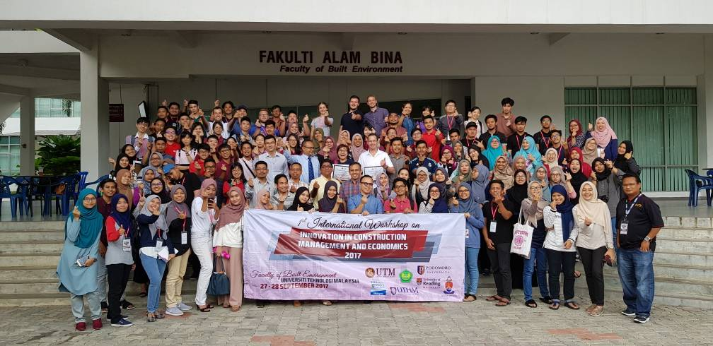 Teknik Ekonomi Konstruksi Ikuti International Workshop
